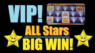 ☆★☆ BIG WIN SLOT MACHINE! VIP All Stars Slot Machine Bonus 50 Lions! ~ Aristocrat (DProxima) ☆