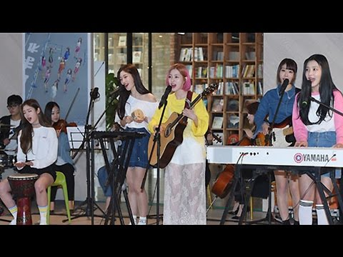 DIA(다이아) '너만 모르나 봄' YOLO Stage (Not only you but spring, On the record, 온 더 레코드)
