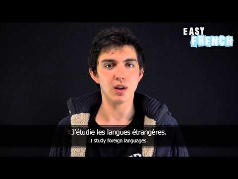 Tiếng Pháp bài 1