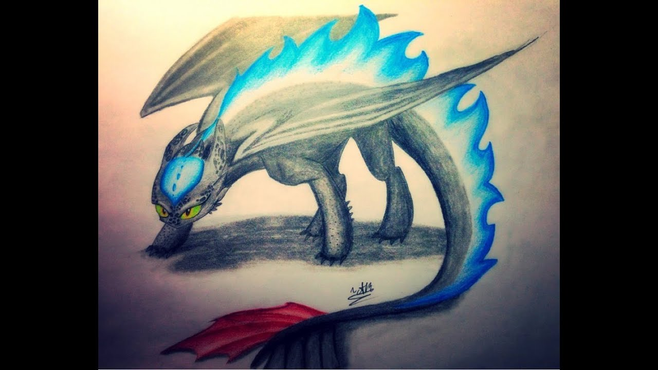 speed draw alpha toothless youtube