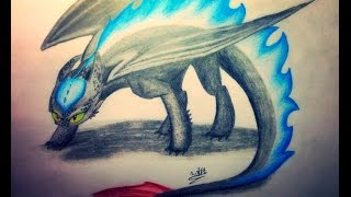 SPEED DRAW: Alpha Toothless