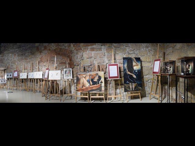 """Art Exhibition - o inițiativă pentru campania """"16 Zile în Cluj"""" - finisaj online"""