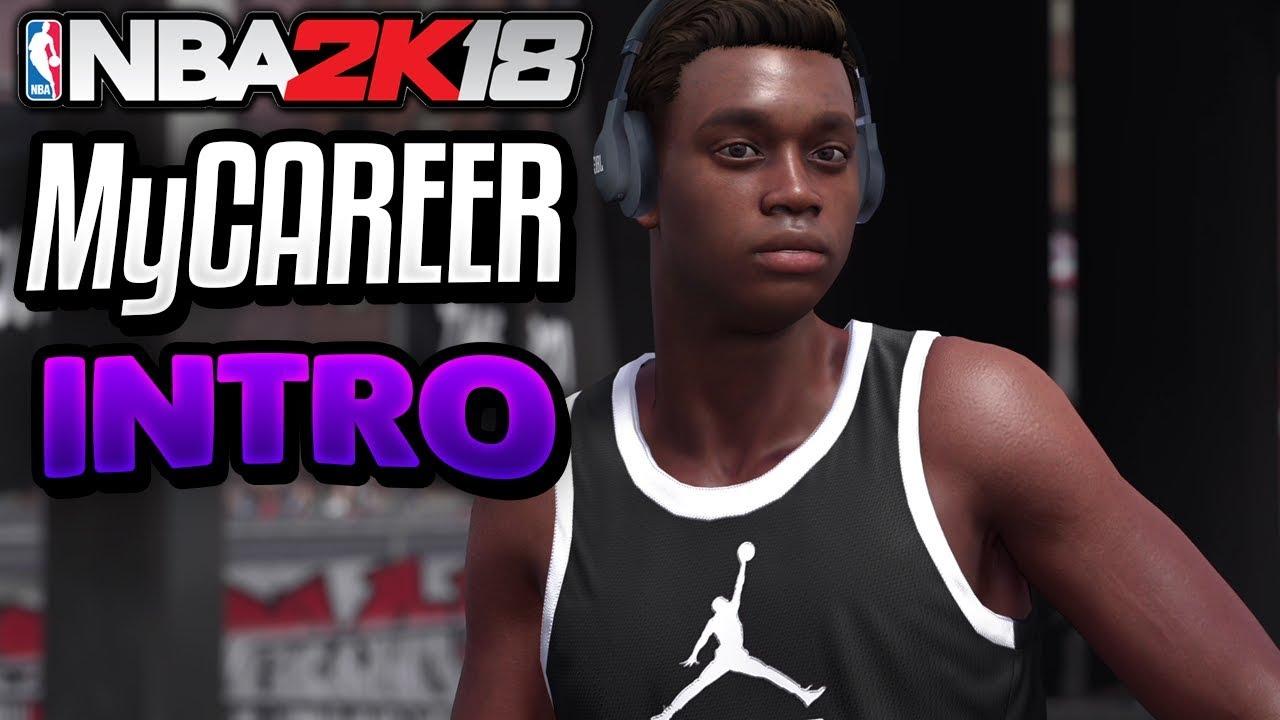 7d91fb3e420 NBA 2K18 MyCareer Gameplay Intro! Beginning of the NBA 2K18 Story Mode!