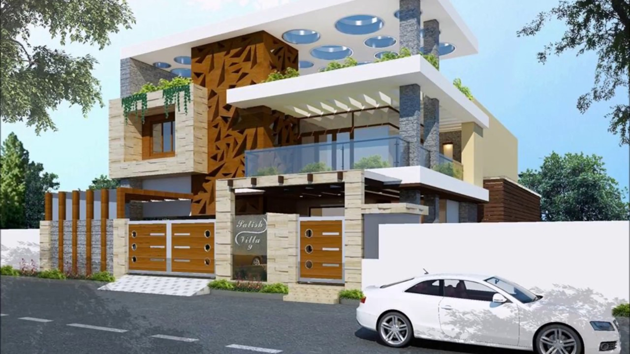 Residence Home Front Elevation : Top modern home front elevation best