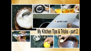 My Kitchen Tips & Tricks  | Useful , Simple Ideas - Part - 2