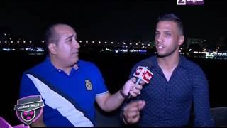 شاهد اسلام جمال يعلن أيوة انا وقفت على الكورة في ماتش الأهلي وبعدين افتكرت رمضان صبحي فنزلت