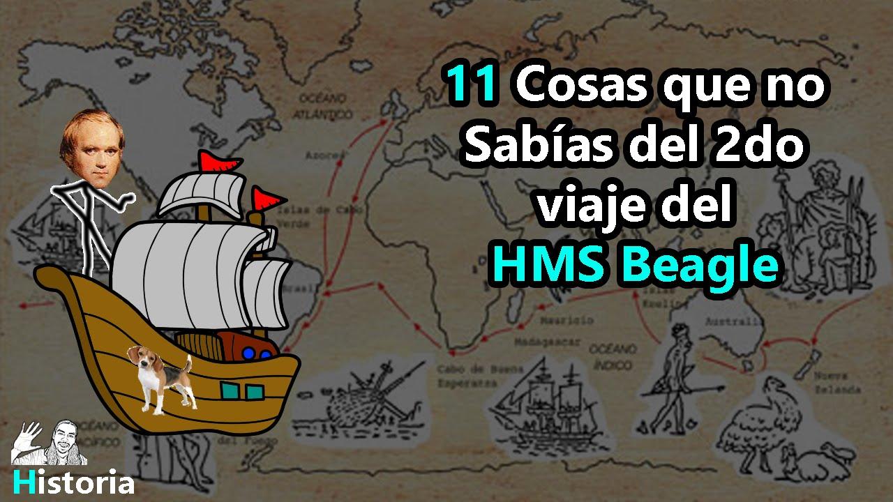 11 Curiosidades de Darwin a bordo del Beagle