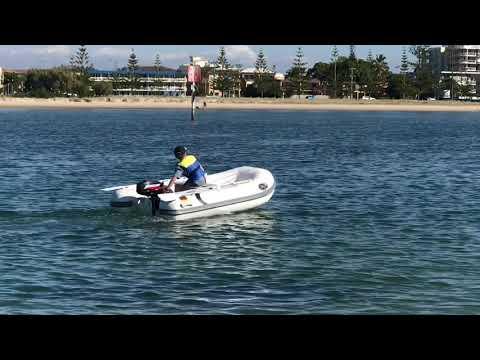 Mercury 3.3hp Outboard On A 2.5m RIB