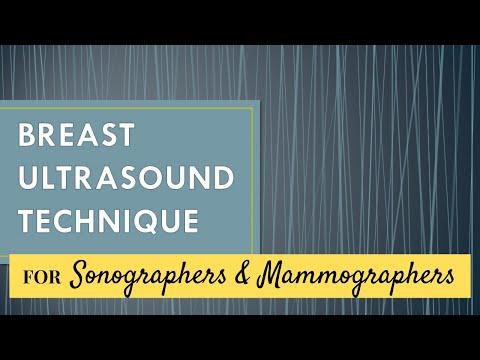 Breast Ultrasound Technique Mp4