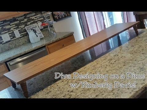 DIY: An Island Shelf/Food Server!!!