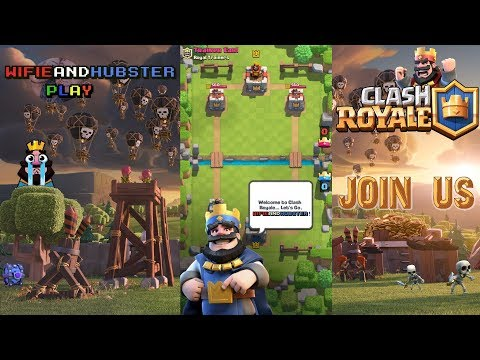 Clash Royale Gameplay - 2v2s with YOU AND a tourny too! Join in!