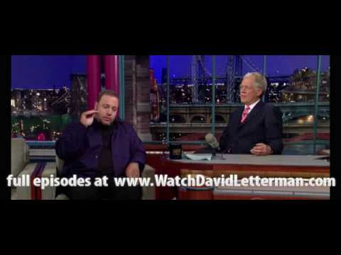 Download Kevin James in Late Show with David Letterman 2010-06-24