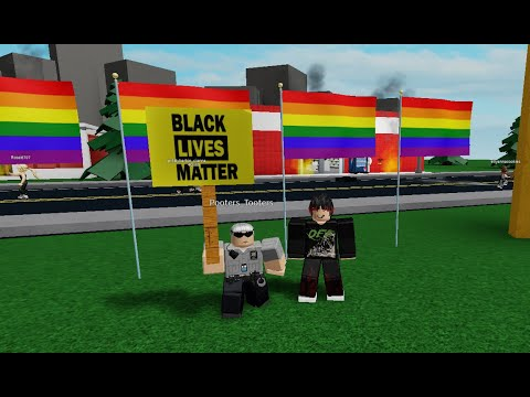 So People Are Protesting Black Lives Matter On Roblox Youtube