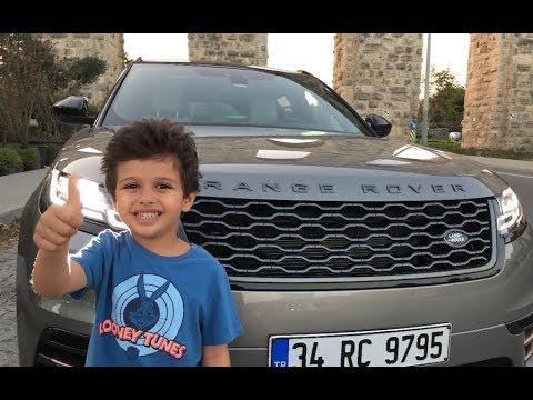Range Rover Velar 2017 Baba Oğul Test