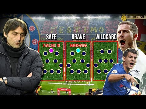 3 WAYS CONTE CAN APPROACH the BARCA 2ND LEG || Chelsea vs Barcelona tactical analysis