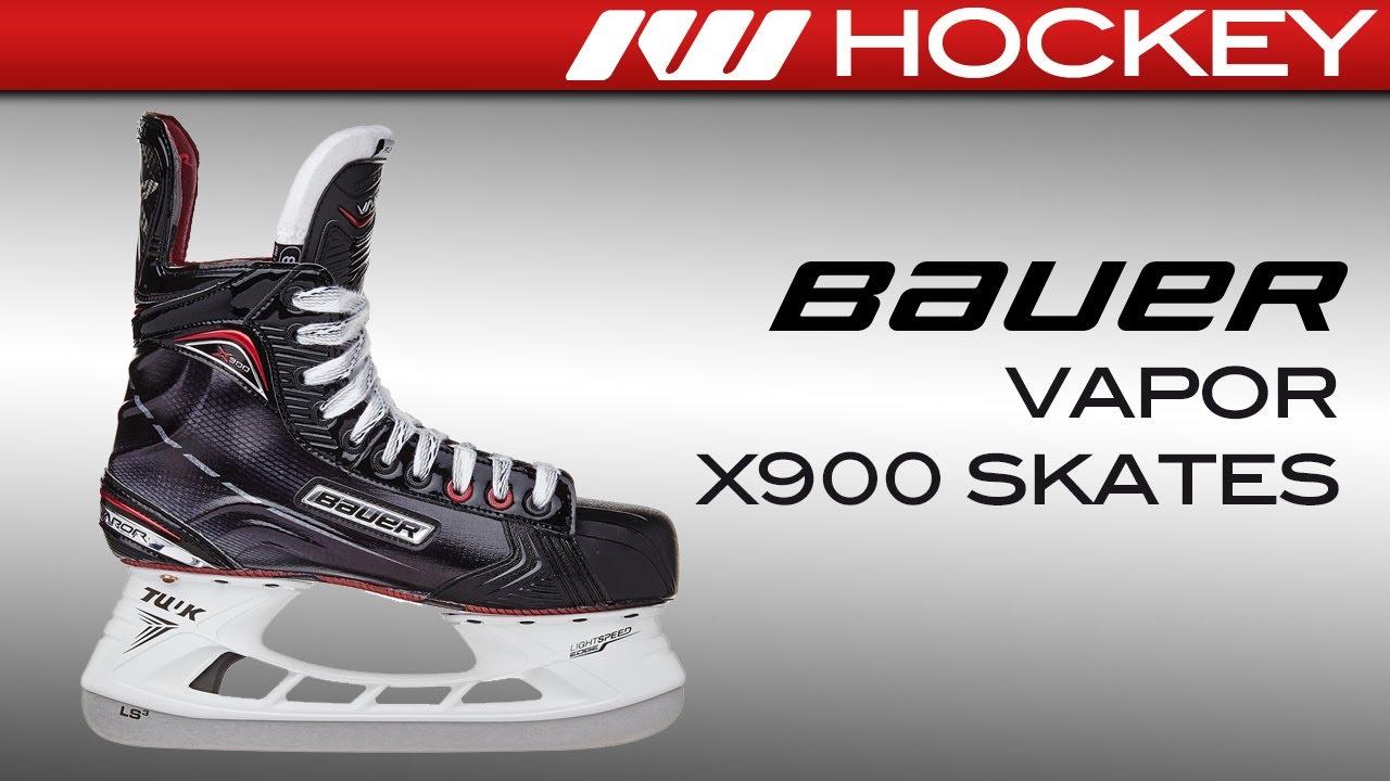 f3a434e1809 2017 Bauer Vapor X900 Skate Review. Ice Warehouse