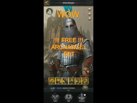** FREE SET OF ARCHANGEL GOLD!! ** Thank You COK / Gods Of Forging!!