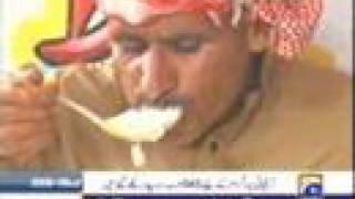 A Man Eaten 24Kg meat 30 cold drinks & 3 Kg  Yogurt