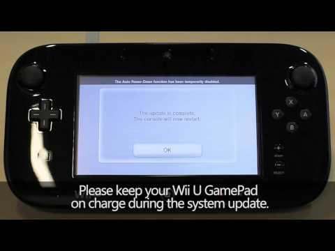 Downloading The Wii U System Update (Wii U)