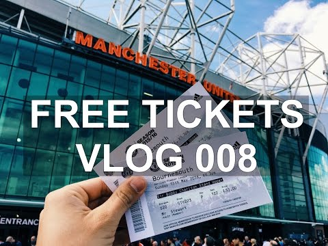 Manchester United GAVE US FREE TICKETS!