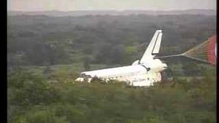 STS121 - LANDING DISCOVERY