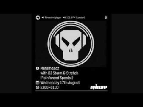 Rinse FM Podcast Metalheadz DJ Storm & Stretch Reinforced 17/08/16