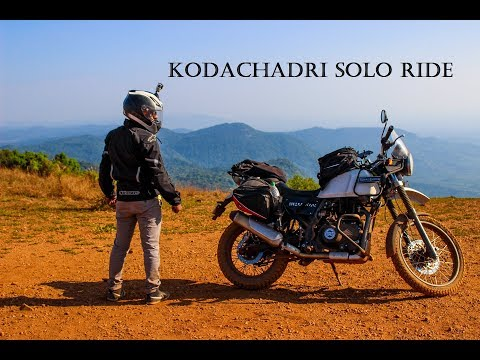 Kodachadri solo ride | Royal Enfield Himalayan | Off roading