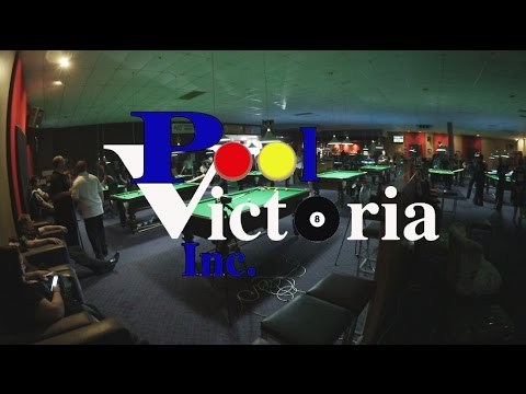 Pool Victoria State Doubles 2015