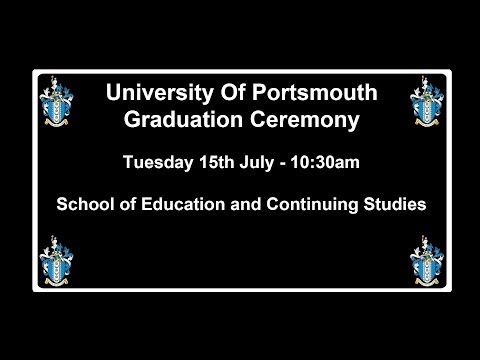 Graduation 2014  School of Education and Continuing Studies