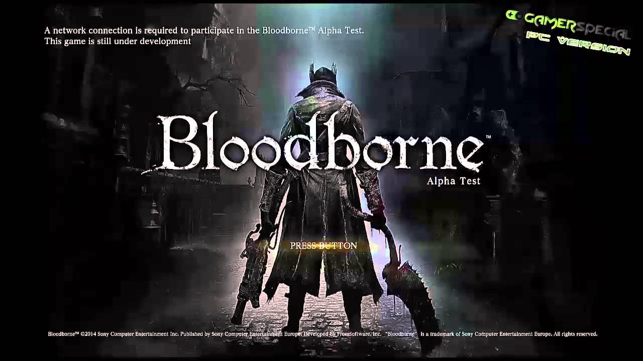 Bloodborne pc version new 2016 game youtube - Bloodborne download ...