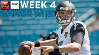 Fantasy Football Week 4 Waiver Wire
