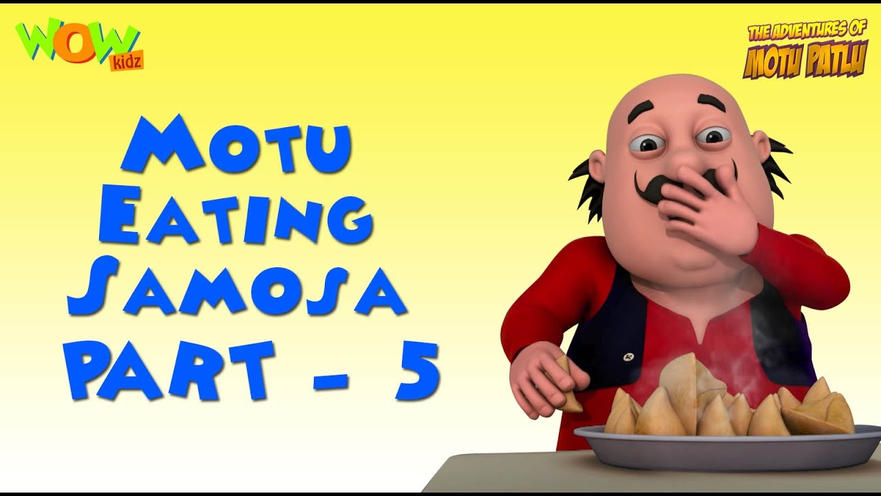 Motu And His Samosas Motu Patlu Compilation Part 5 30 Minutes