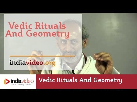 Vedic Rituals and Geometry in India