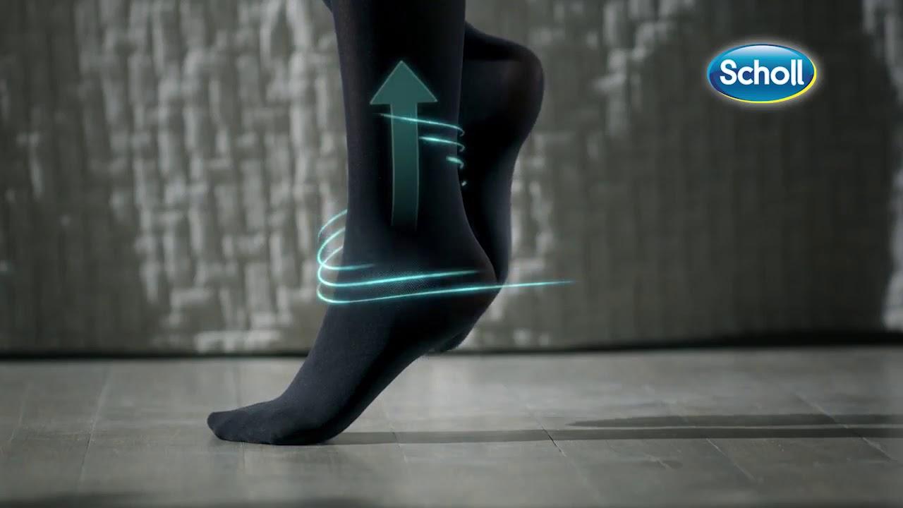SCHOLL - LIGHT LEGS Καλσόν Διαβαθμισμένης Συμπίεσης - YouTube 3ae2930b906