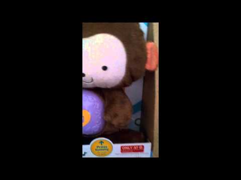 Review of Sleepytime SnugaMonkey stuffed animal from Target/Fisher Price
