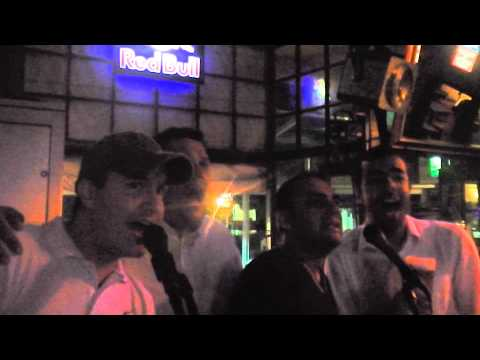 Karaoke in Cape Town Dizzy's, LAL Students