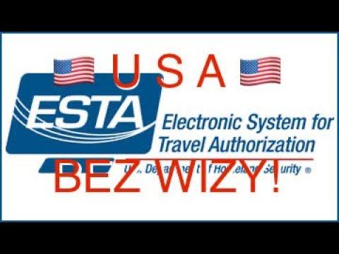 🇵🇱 ESTA  ✈️ 🗽 Dostałem Pozwolenie Na Wjazd Do USA 🇺🇸 Bez Vizy
