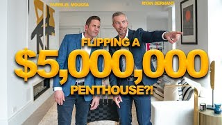 Flipping a $5 Million Penthouse with Tarek El Moussa!? | Ryan Serhant Vlog #80
