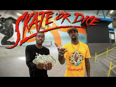 Terry Kennedy & Marquise Menefee   Skate Or Dice!