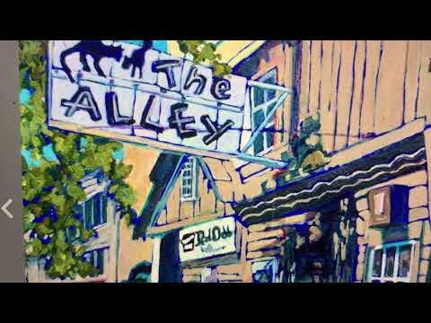 The Alley Cat Bar Oakland Panting One Of The Top Posts On Instagram As Of August 24 2021