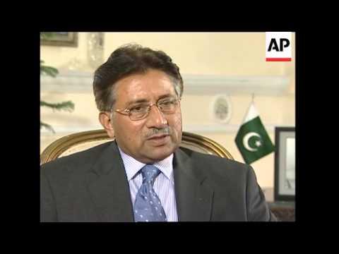 Download Musharraf comment on Indian 'spy' case