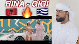 ARAB REACTION TO ALBANIAN MUSIC BY Rina ft Sin boy  Gigi BEAUTIFUL