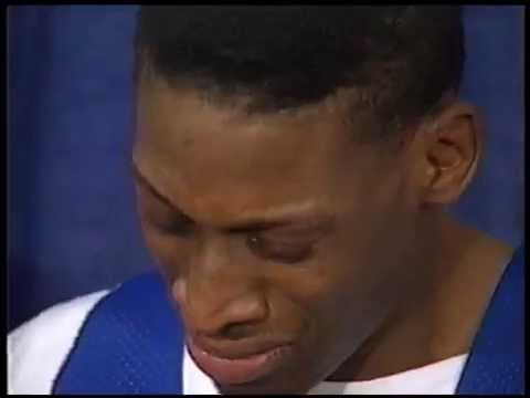 Dennis Rodman Cries After Winning Defensive Player of the Year