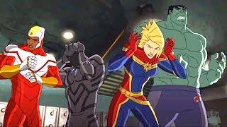 Марвел| Мстители: Революция Альтрона Серия 26 Сезон 3 - Противостояние.Часть 4: Революция Мстителей