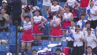 【4K】 日大三 応援 得点して歓喜 チア ブラスバンド 2019.7.24 Japanese high school dance