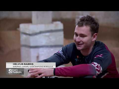 Helvijs Babris starp BMX un bobsleju