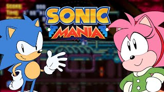 """Sonic Mania - """"Saving"""" Rosy in Stardust Speedway (Mod Release)"""