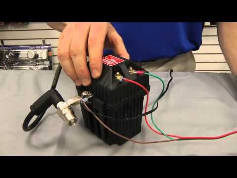 Mallory Ignition Testing Ignition Coil for Positive Spark Video Part on