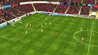 Belgium vs Switzerland - De Bruyne Goal 61 minutes