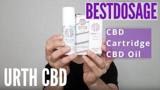 URTH CBD: Wedding Cake CBD Cartridge & Peppermint CBD Oil (2020)